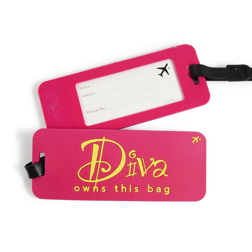 Heartwarmers Fun Holiday Suitcase Luggage Tags, Diva Owns this Bag 40601