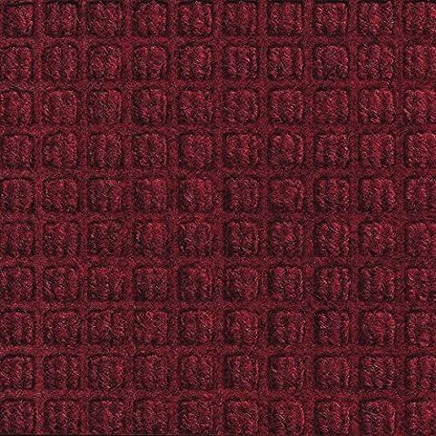Waterhog Classic Entrance Mats - Red Black 3' x 4' (Waterhog Indoor Outdoor Rug)