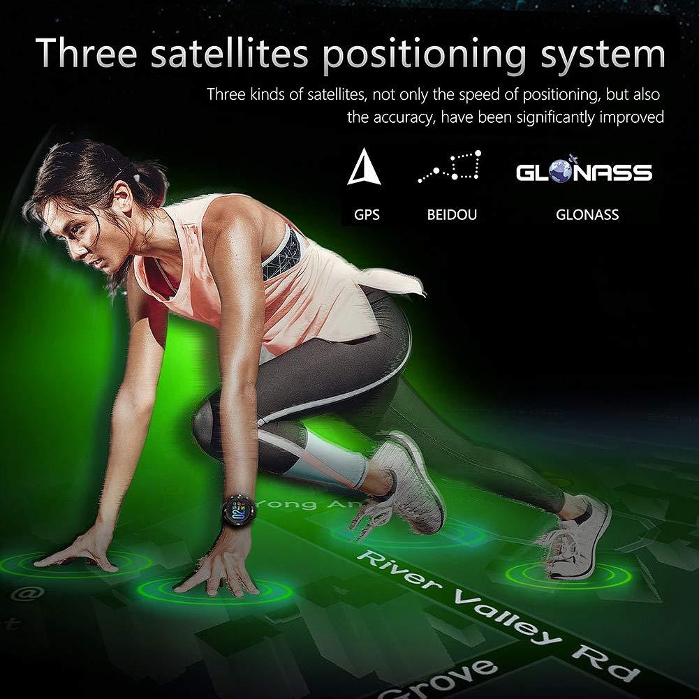 Zerone Fitness Tracker Orologio Sportivo GPS Outdoor Smartwatch Impermeabile Braccialetto Contapassi Monitoraggio Sonno Condizioni Salute Smartwatch