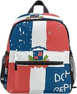 Mochila para niños de 3-8 años con diseño de Bandera de la
