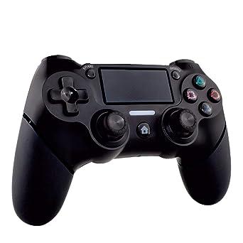 Nuwa - Mando Inalámbrico, Color Negro (PS4)