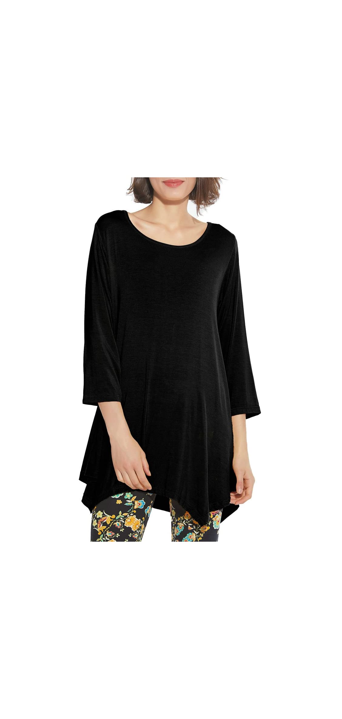 Women / Sleeve Swing Tunic Tops Plus Size T Shirt