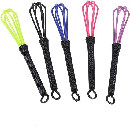 Lurrose 5 unids plástico agitador del tinte para el cabello ...