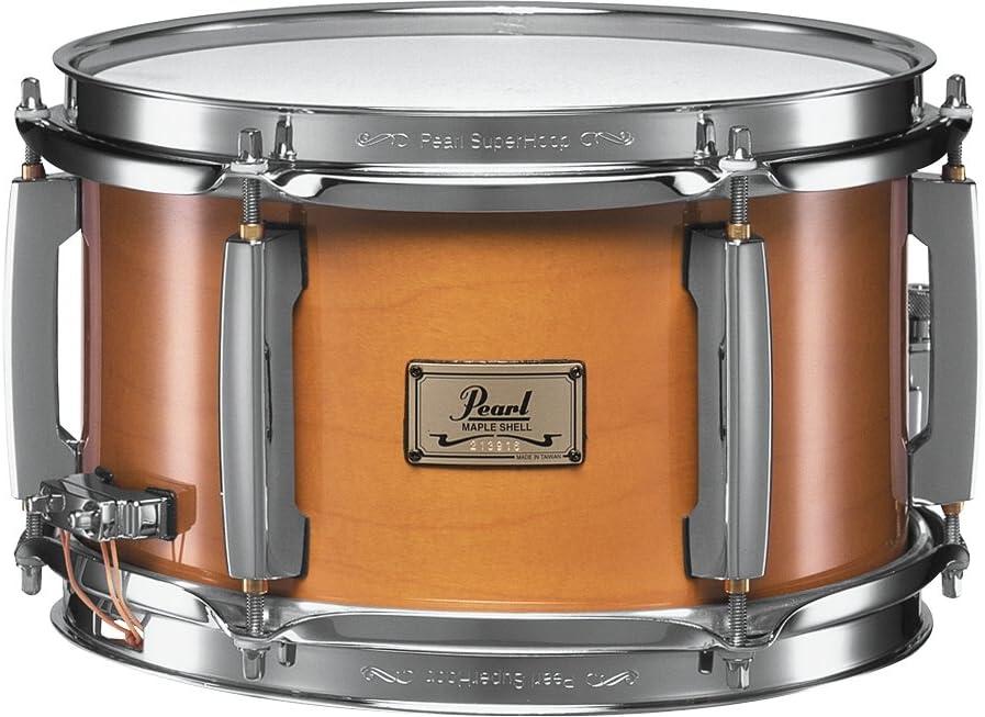 B0002F6W50 Pearl M1060102 Maple Popcorn Snare Drum, 10-inchx6-inch, 6 ply, Natural Maple 61M2BCKixlGL.SL1000_