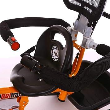 YLET Kids Trike Push Chair Triciclo guiado para niños ...