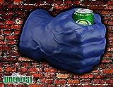 foam fist beverage holder - Uberfist Right Hand Hulk Foam Fist Drink Holder, Blue