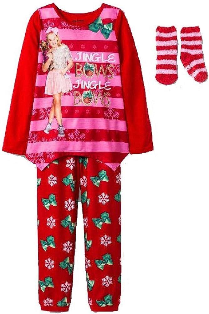 Dorm Pajama Girls sizes JoJo Siwa Long Girls Pajama Set with Slippers