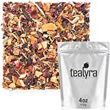 Tealyra – Immunity Booster – Rooibos – Ginger – Hibiscus – Herbal Loose Leaf Tea Blend – Detox – Healthy – Refreshing and Relaxing – All Natural – Caffeine Free -110g (4-ounce)