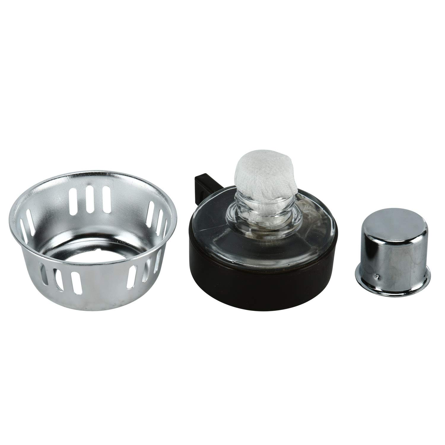 Boeng Tabletop Siphon (Syphon) Coffee Maker with Alcohol Burner, Plastic Coffee Powder Spoon, Filter Cloth and Wooden Stirrer (3 Cups) by BOENG (Image #5)