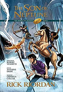 the lightning thief the graphic novel percy jackson the