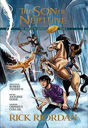 The Heroes of Olympus, Book Two, The Son of Neptune: The Graphic Novel Photo #1