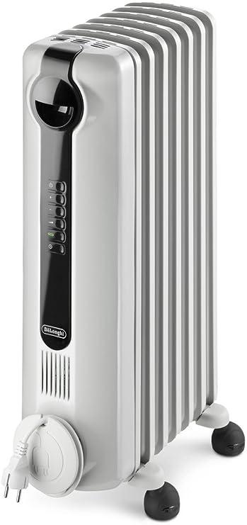 2kW Silver DeLonghi HR720S Retro Convector Heater