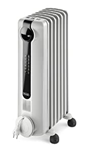 DeLonghi TRRS0715E Radia S Eco Digital Full Room Radiant Heater with Silent Operation