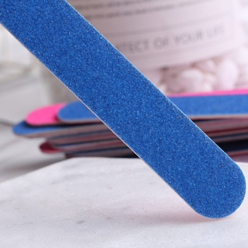 Amazon.com: 100pcs Doble Lado Desechable Profesional Belleza ...