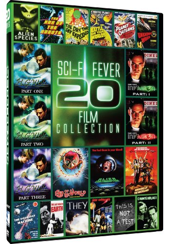 Sci-Fi Fever - 20 Film Collection The Doomsday Machine - The Infinite Worlds of H.G. Wells - Robin Cooks Invasion - The Last Man On Earth - Warriors of the Wasteland  15 more