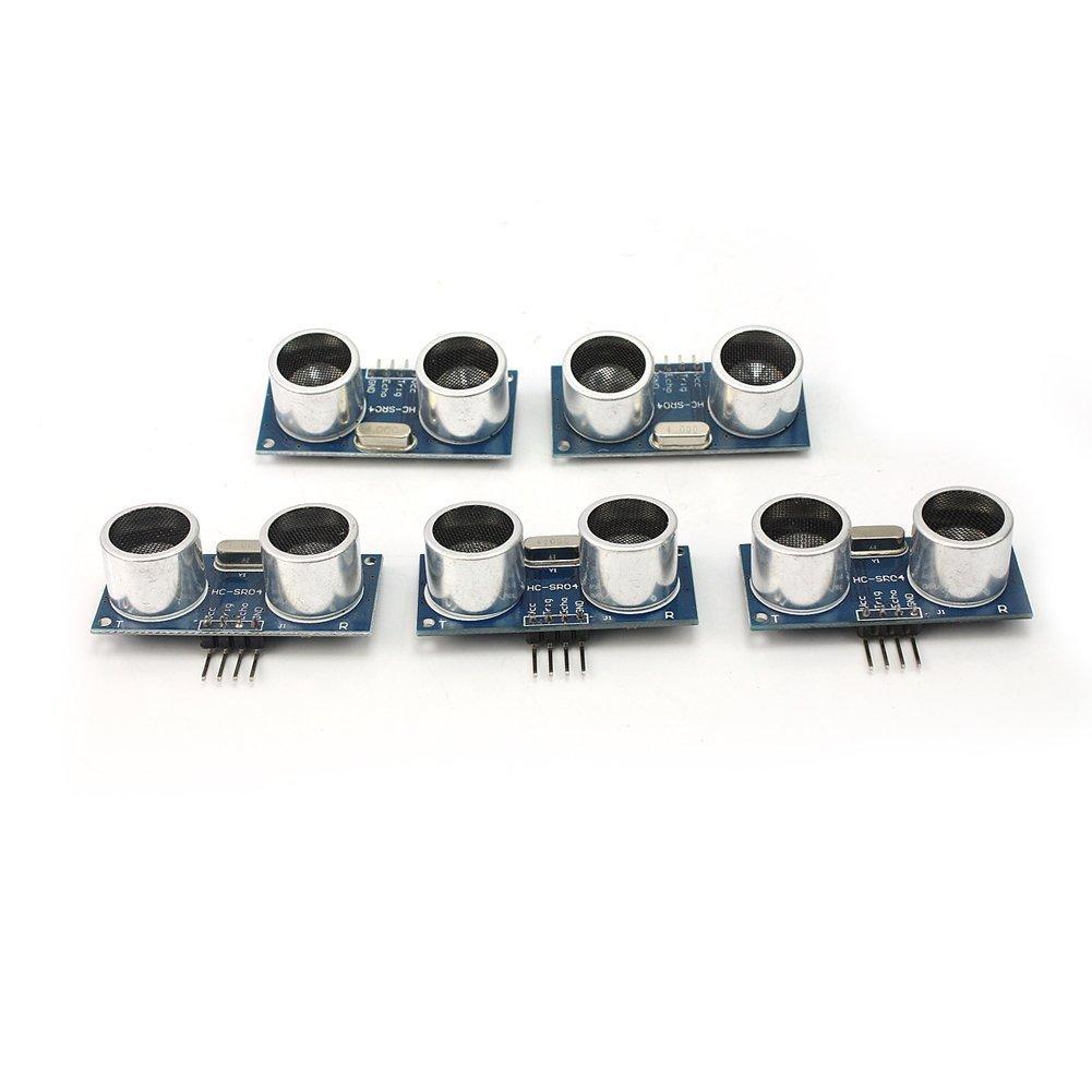 Generic HC-SR04 Ultraschall-Modul, Abstandsmesser für Arduino, 5-teilig