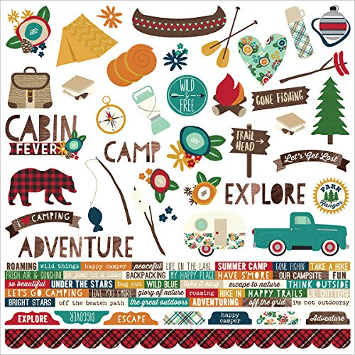 Cabin Fever Combo Sticker Sheet - Simple - Story Fever