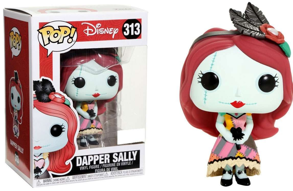 Funko Pop Disney #313 Dapper Sally Nightmare Before Christmas + Pop ...
