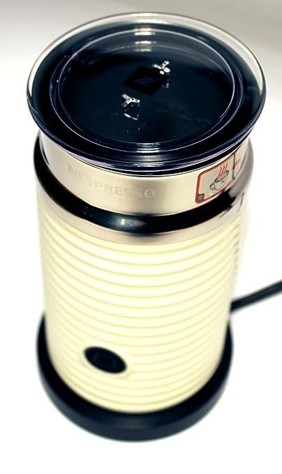 Nespresso Aeroccino 3 elektrischer Milchaufschäumer weiß - Original Nespresso - Hersteller: Nestlé / Delonghi - ideal für Lat