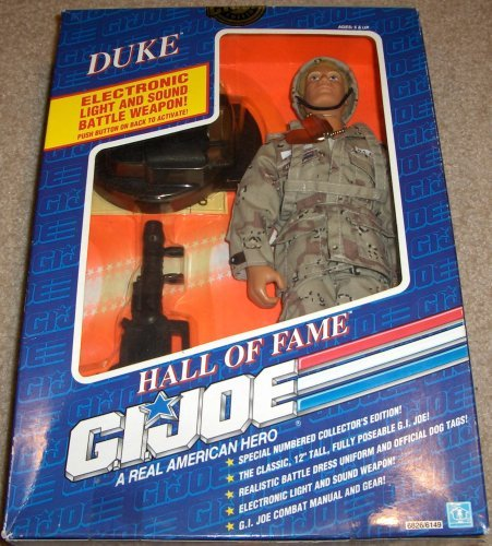 GI Joe Hall Of Fame Duke 12 Inch Electronic Action Figure -
