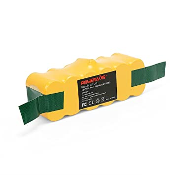 POWERAXIS 14.4V 4500mAh Ni-MH Aspiradora Bateria para iRobot Roomba 500 510 530 531