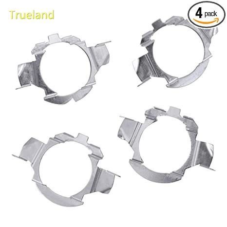 H7 LED Bulb Adapter Holders H7 Retainers Socket Base for VW Jetta Mercedes-Benz Audi BMW X5 E85 Buick Hyundai Nissan with 2 Pack