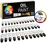 Best Oil Paint Sets - U.S. Art Supply Professional 36 Color Set of Review