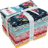 Lori Whitlock Happiness Is Handmade 24 Fat Quarters Riley Blake Designs FQ-6720-24