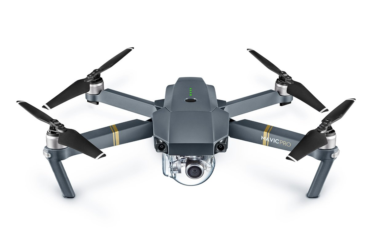 DJI Mavic Pro Drone with 4K Camera – Grey
