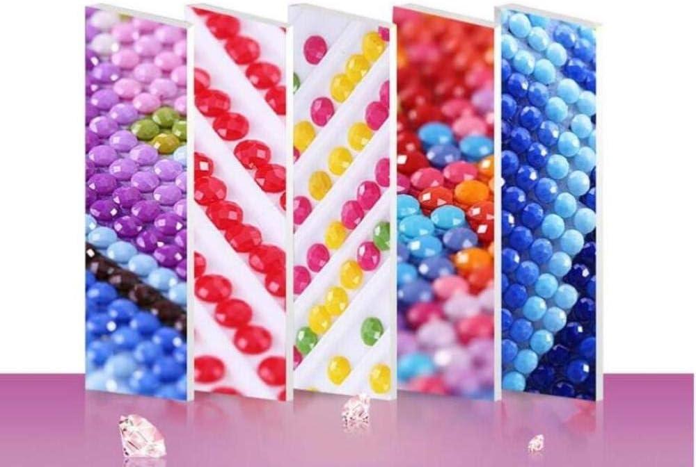YUXAN Kit di Pittura Diamante 5D Edizione Verticale di Grandi Dimensioni Dipinti Farfalla Dorata Fai da Te Punto Croce Diamante Rotondo Decorazioni per la casa 30X60Cm