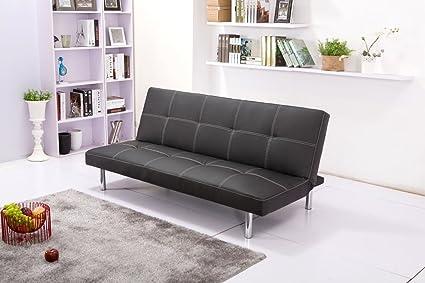 Hogar24 Sofa acabado sint%C3%A9tica blanco medidas