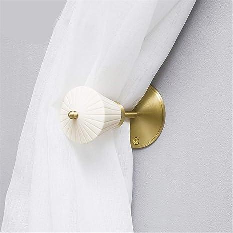 Cortinas de corbata montadas en la pared Artisan Refinado Elegante ...