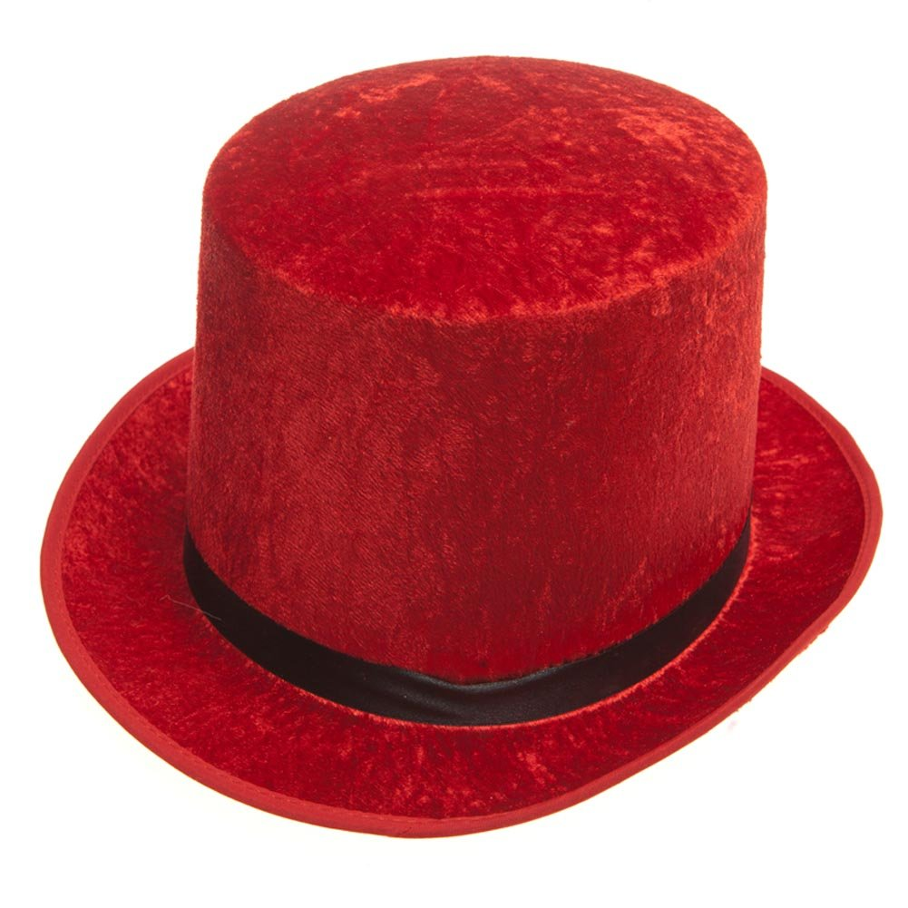Century Novelty Red Top Hat