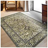 Superior Radcliffe Collection Area Rug, 8mm Pile Height with Jute Backing, Traditional European Tapestry Design, Fashionable and Affordable Woven Rugs – 4′ x 6′ Rug Review