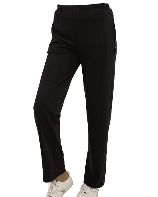 Pantalones deportivos de chándal Jogging para mujeres color negro ...