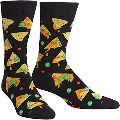 Sock It To Me Men/'s Crew Socks Bacon