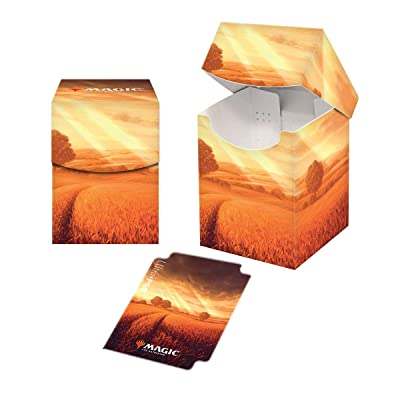 Ultra Pro ULP86831 Magic The Gathering Lands Plains Pro 100 Plus Deck Box: Toys & Games