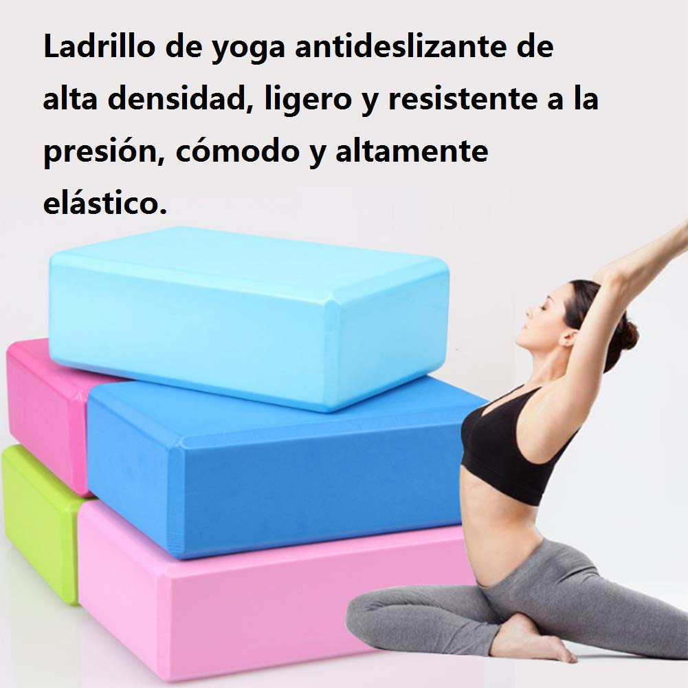 Amazon.com : NUAN233 Yoga Brick EVA high Density Yoga Block ...