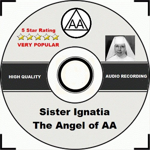 Price comparison product image Alcoholics Anonymous AA 12 Step Speaker CD - Sister Ignatia,  Angel of AA