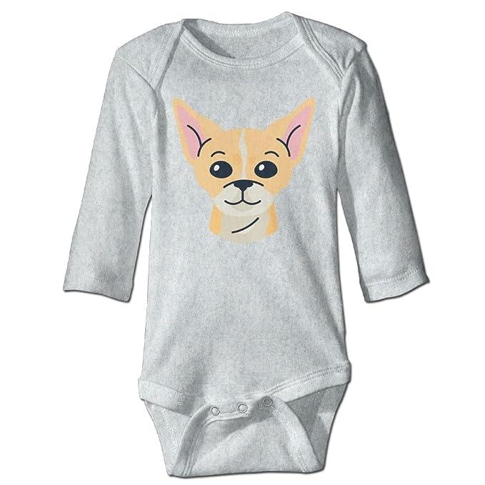 Midbeauty Chihuahua Newborn Cotton Jumpsuit Romper Bodysuit Onesies Infant Boy Girl Clothes