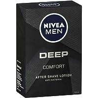 NIVEA MEN DEEP Comfort Anti-Bacterial After Shave Lotion 100ml