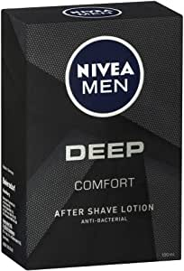 NIVEA MEN DEEP Comfort Anti-Bacterial After Shave Lotion 100ml