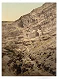Historic Photos Convent of Elijah and Brook of Kerith, Wady-el-Keit, Holy Land