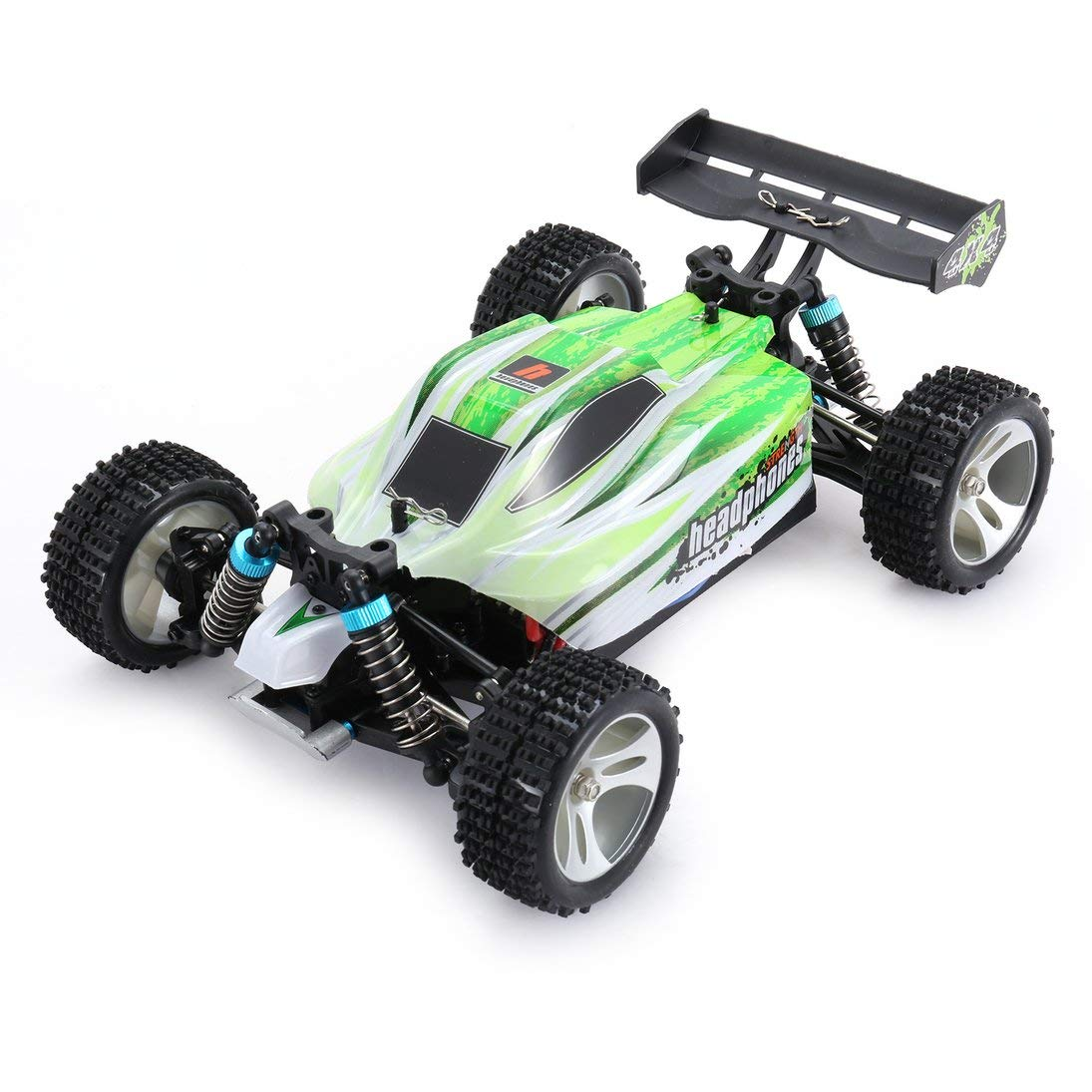 ToGames-ES WLtoys A959-B 2.4G 1/18 Scale 4WD 70KM/h Electric RC Car RTR Off-Road Buggy
