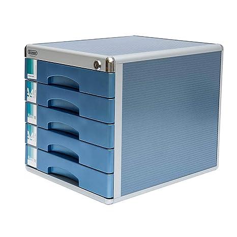 Archivadores HUXIUPING A4 Gabinete de Almacenamiento de Datos Gabinete de despacho Gabinete de Cinco Pisos