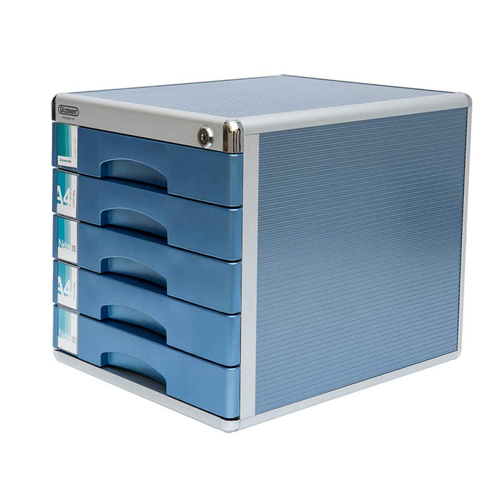 File cabinets LITING A4 Data Storage Cabinet Drawer Office Countertop Five-Story Cabinet