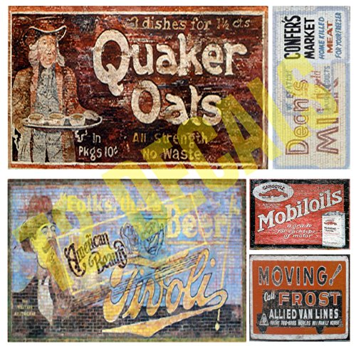 O Scale Ghost Sign Building / Structure Decals #27 for sale  Delivered anywhere in USA