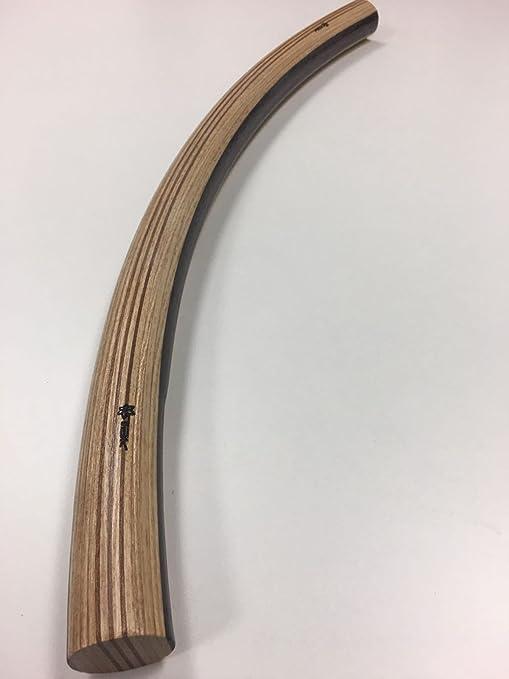 Fahrrad Lenker Holzgriffe schwarz hochwertig edel