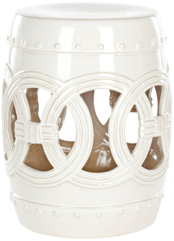 Amazon.com Safavieh Castle Gardens Collection Knotted Rings Ceramic Garden Stool White Kitchen u0026 Dining  sc 1 st  Amazon.com & Amazon.com: Safavieh Castle Gardens Collection Knotted Rings ... islam-shia.org