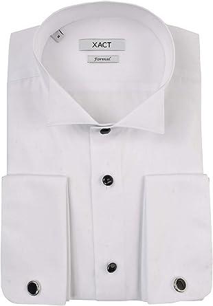 Xact - Camiseta de esmoquin para hombre, diseño formal con ...